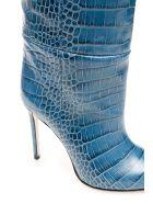 Paris Texas Python-print Boots - JEANS (Blue)