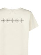 Rhude Space Cowboy T-shirt - Beige nero