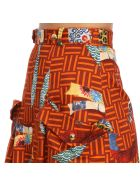 Stella Jean Skirt Skirt Women Stella Jean - brick red