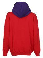 MSGM Logo Hoodie - Rosso