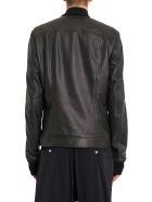 Rick Owens Rottersis Leather Bomber Jacket - Nero