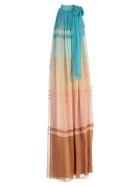 Alberta Ferretti Color-block Dress - Basic