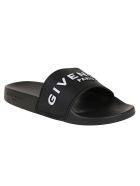 Givenchy Slide Flat Sandal - Black