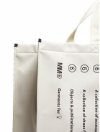 MM6 Maison Margiela Classic Brand Shopper Bag - Bianco