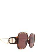 Dior Dior 30montaigne2 Havana Sunglasses - EPZ/U1