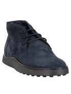 Tod's Classic Ankle Boots - Blue