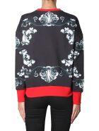 Alexander McQueen Round Neck Sweatshirt - MULTICOLOR