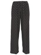 Aspesi Polka Dot Trousers - Black