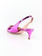 Stuart Weitzman Edith Slingback Pumps - Flamingo