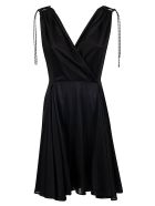 Neil Barrett Pleated Dress - Black