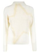 Lorena Antoniazzi Rib Knit Sweater - Whiter