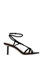 Sam Edelman Pippa Leather And Suede Sandals With Heel - black