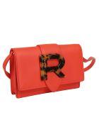 Rochas Logo Shoulder Bag - Red