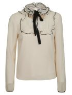 RED Valentino Ruffled Blouse - An