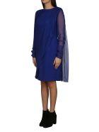 Lanvin Long-sleeved Mid-length Dress - Blue