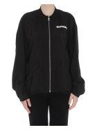 MM6 Maison Margiela Back Logo Jacket - Black