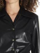 Nanushka 'poppy' Shirt - Black