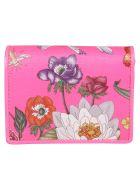 Gucci Floral Print Card Case - Basic