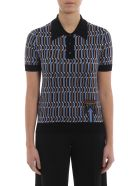 Prada Knit Polo Shirt - Pervinca