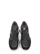 Alberto Guardiani Black Sport Lady Vague Sneakers - Black