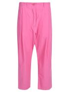 Sofie d'Hoore Straight-leg Cropped Trousers - Pink