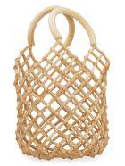 Cult Gaia Emmie Net Bag - brown
