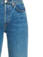RE/DONE 'high Rise Stove Pipe' Jeans - Blue