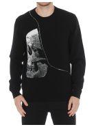 Alexander McQueen Skull Pullover - Black