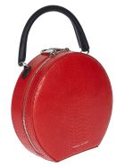 Rebecca Minkoff Snake-skin Effect Crossbody Bag - Red
