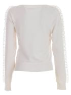 See by Chloé Sweater L/s Boat Neck W/insert - White