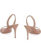 Aquazzura So Nude Leather Sandals - Pale pink