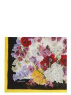 Dolce & Gabbana Hydrangea Print Scarf - Basic