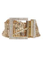 B-Low the Belt Embellished Belt - Gold
