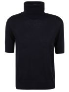 Ralph Lauren Black Label Short Sleeve Sweater - Midnight