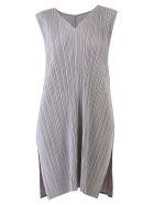 Issey Miyake Pleated Dress - Grey