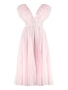 Philosophy di Lorenzo Serafini Cotton Long Dress - Pink