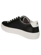 M.O.A. master of arts Embroidered Flamingo Sneakers - black