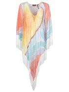 Missoni Frayed Hem Copricostume Top - Rainbow