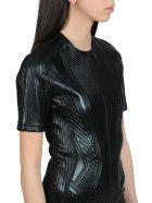 Thierry Mugler Embossed Mini Dress - Nero