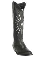 Golden Goose Star Boots - Black/silver