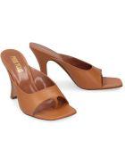 Paris Texas Leather Thong-sandals - Saddle Brown