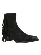 Saint Laurent Lukas 40 Boots - Nero
