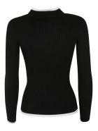 Ermanno Scervino Ribbed Sweater - white black