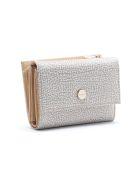 Borbonese Medium Wallet W/zip - Beige