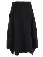 Comme des Garçons Skirt A Line Gabradine - Black