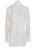Eudon Choi Shirt W/scarf On Neck - White