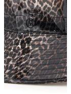 Maison Michel Charlotte Leopard Pvc Bucket Hat - MULTICOL (Brown)