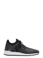 Tod's Leather Low-top Sneakers - black