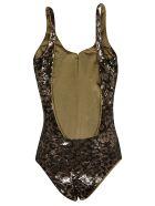 Fisico - Cristina Ferrari Fisico Leopard Print Swimsuit - Ginger Bianco