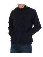 C.P. Company Medium Goggle Jacket - Blue